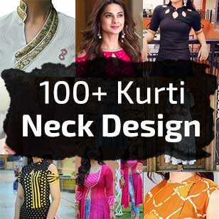 100+ Latest Kurti Neck Designs
