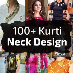 100+ Latest Kurti Neck Designs