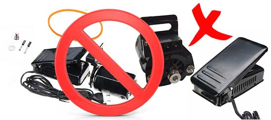 Bad Sewing Machine Motor do not Buy