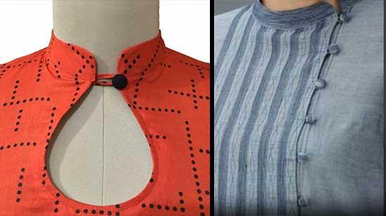 Neck Design of Kurtis with Collar