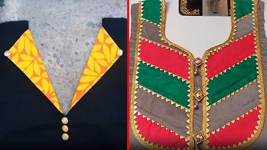 Punjabi Suit Neck Lace Design