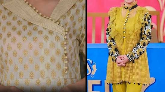 Simple Collar Kurti Neck Design