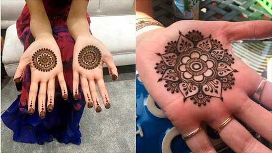 Arabic Mehndi Designs for Left Hand