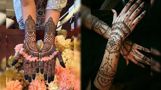 Arm Mehndi Design Easy