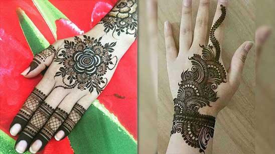 Bangle Mehendi Designs