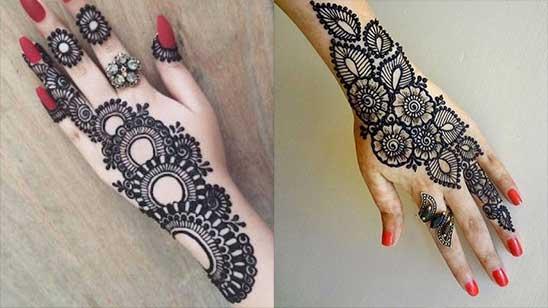 Bangle Mehndi Designs