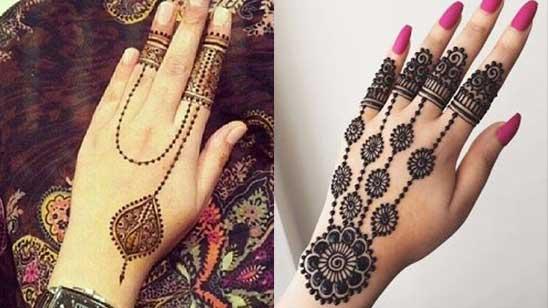 Bracelet Mehendi Designs