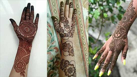 Easy Arm Mehndi Design