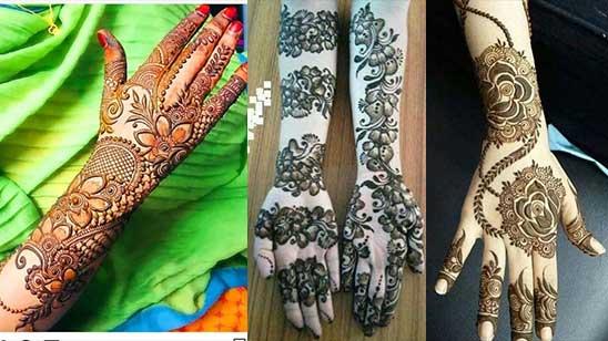 Easy Arm Mehndi Designs