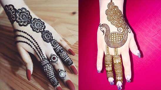Easy Bangle Mehendi Design