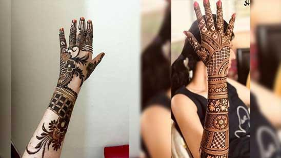 Easy Bridal Mehendi
