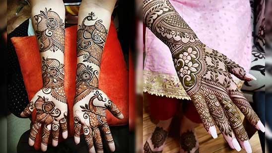 Easy Bridal Mehndi Design