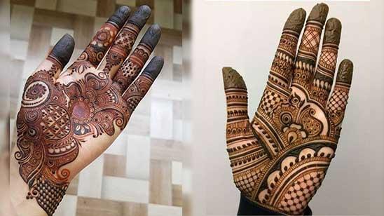 Easy Hatheli Mehndi Design