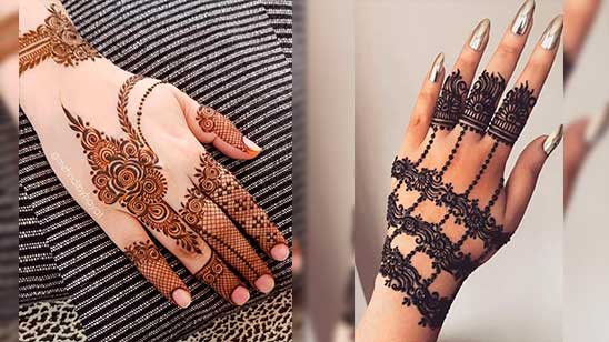 Easy Jewellery Mehendi Design