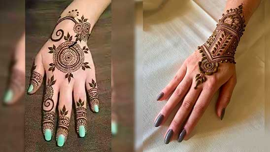 Easy Jewellery Mehndi Design