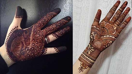 Easy Mahndi Design of Hatheli