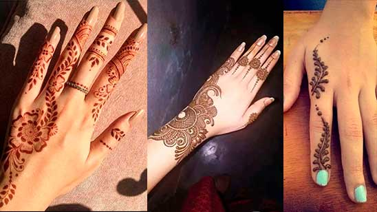 Easy Mehndi Design for Finger