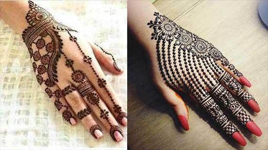Easy Mehndi Design of Bangle