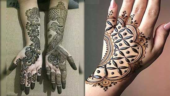 Easy Mehndi Design of Mylanchi