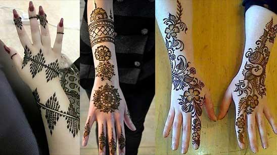 Easy Mylanchi Mehendi Design