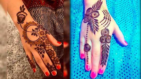 Easy Stylish Mehendi Design