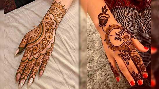 Easy Stylish Mehndi Design