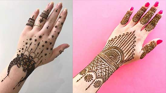 Easy and Simple Bangle Mehndi Design