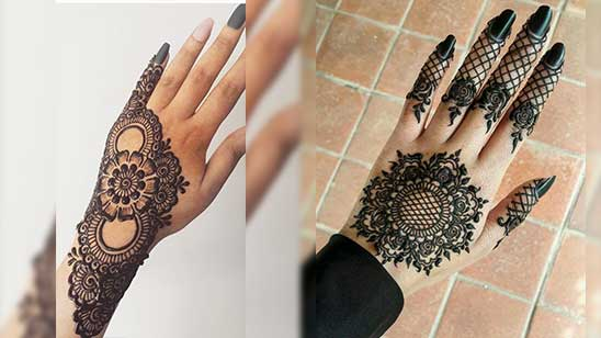 Easy and Simple Bangle Mehndi Designs