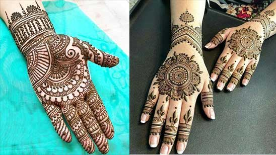 Easy and Simple Bridal Mehndi Design
