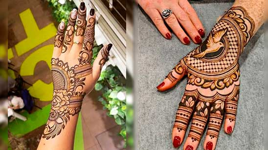 Easy and Simple Modern Mehndi Design