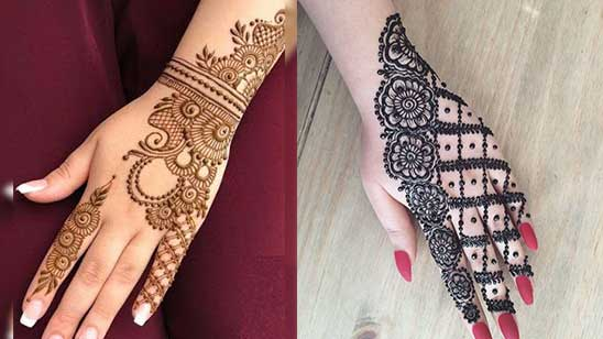 Easy and Simple Mylanchi Mehendi Design
