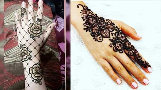 Easy and Simple Mylanchi Mehndi Design