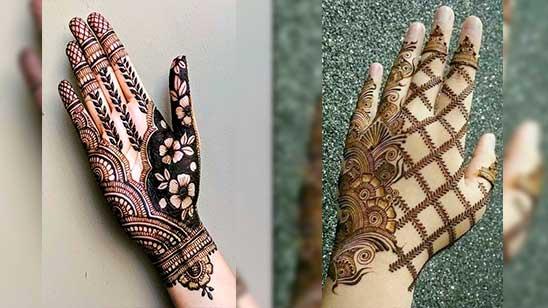 Easy and Stylish Mehndi Design