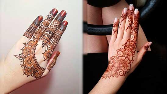 Finger Mehndi Design Easy