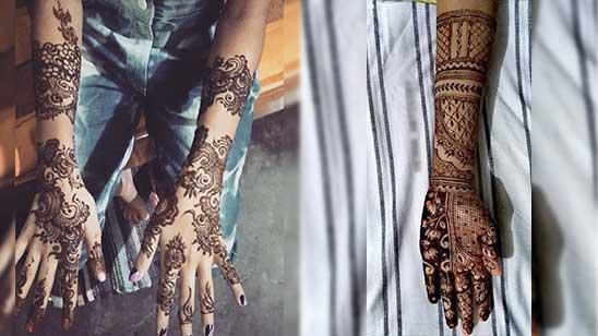 Full Hand Mehndi Design Easy