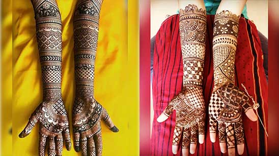 Full Hand Mehndi Design Simple And Easy
