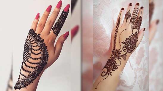 Jewellery Mehendi Design