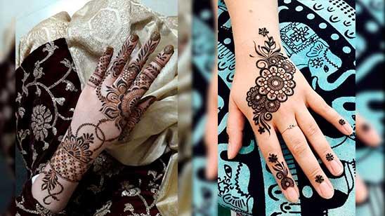 Khafif Mehndi Design Easy