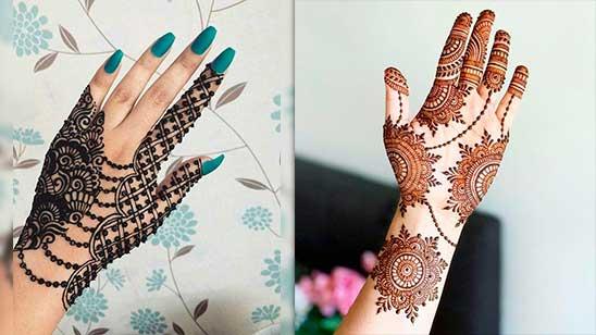Khafif Mehndi Designs Simple