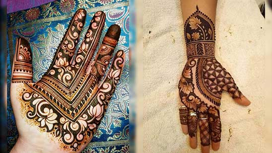 Mahendi Design of Hatheli