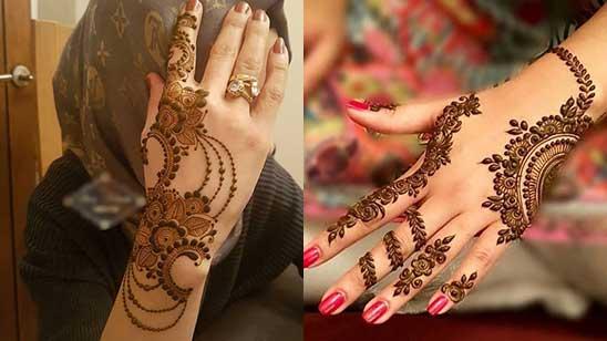 Mehendi Design of Bracelet