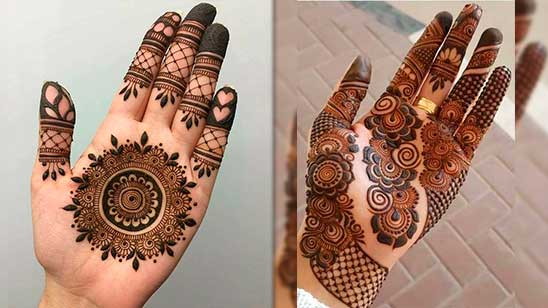 Mehndi Design Arabic Simple and Easy
