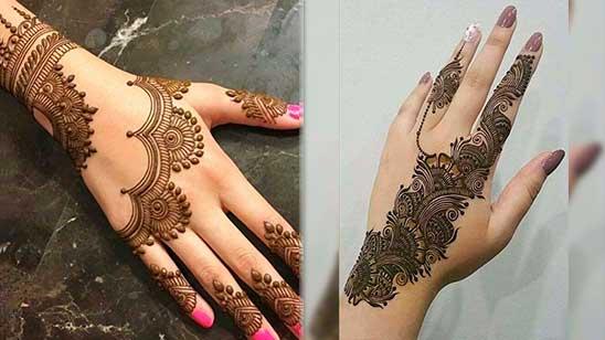 Mehndi Design Simple Back Hand