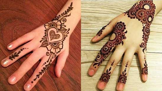Mehndi Design Simple Bail