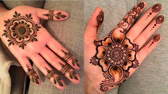 Mehndi Design Simple and Beautiful Arabic