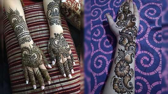 Mehndi Design of Arm