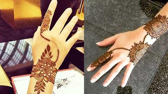 Mehndi Design of Bracelet