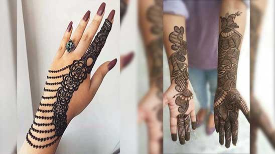 Mehndi Design of Bridal