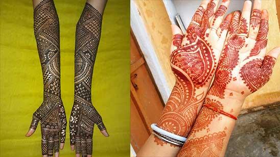 Mehndi Designs Full Hand Easy