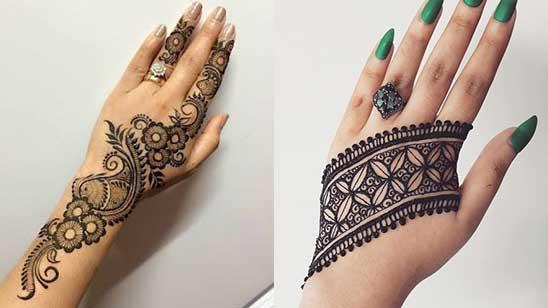 Mylanchi Mehndi Design